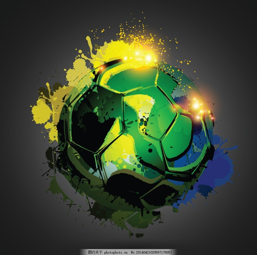 足球,巴西足球 世界杯 足球比赛 背景设计 足球