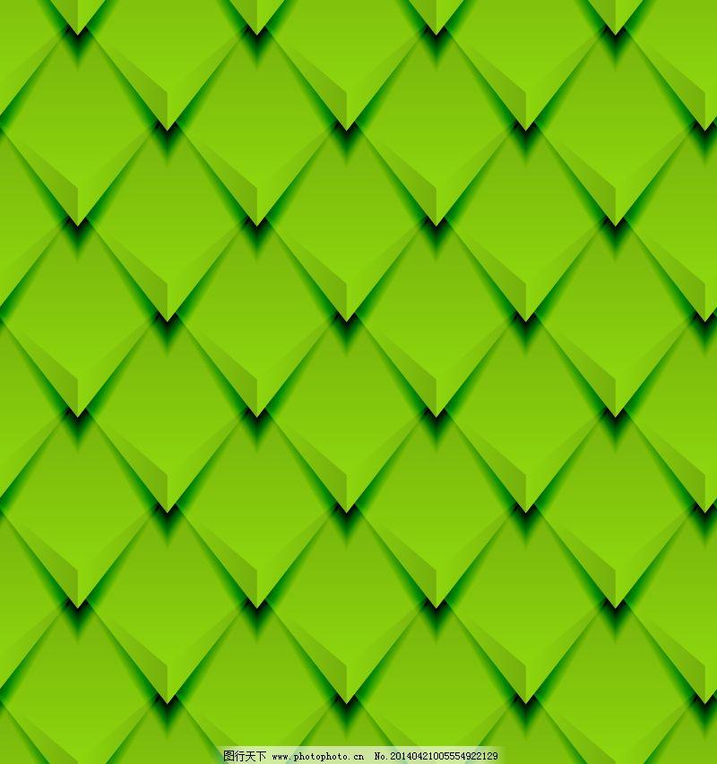菱形 菱形背景 绿色 背景 绿色 立体 菱形 菱形背景 绿色立体菱形背景