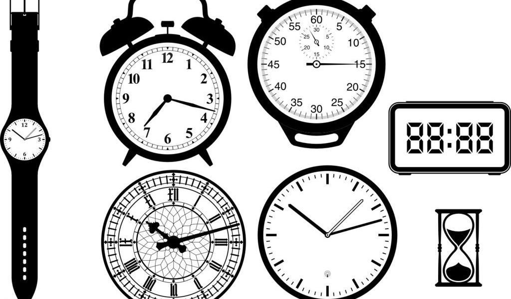 钟表矢量图矢量素材