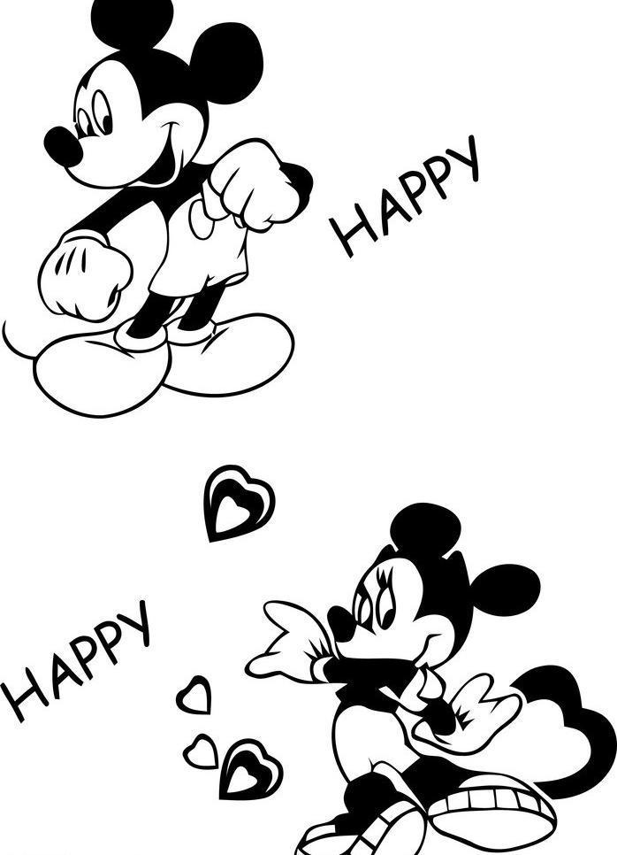米老鼠 米老鼠图片免费下载 儿童画 生活百科 休闲娱乐 米老鼠矢量