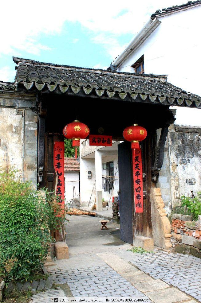 门楼 中式 仿古 景观 门 园林建筑 建筑园林 摄影 72dpi jpg图片