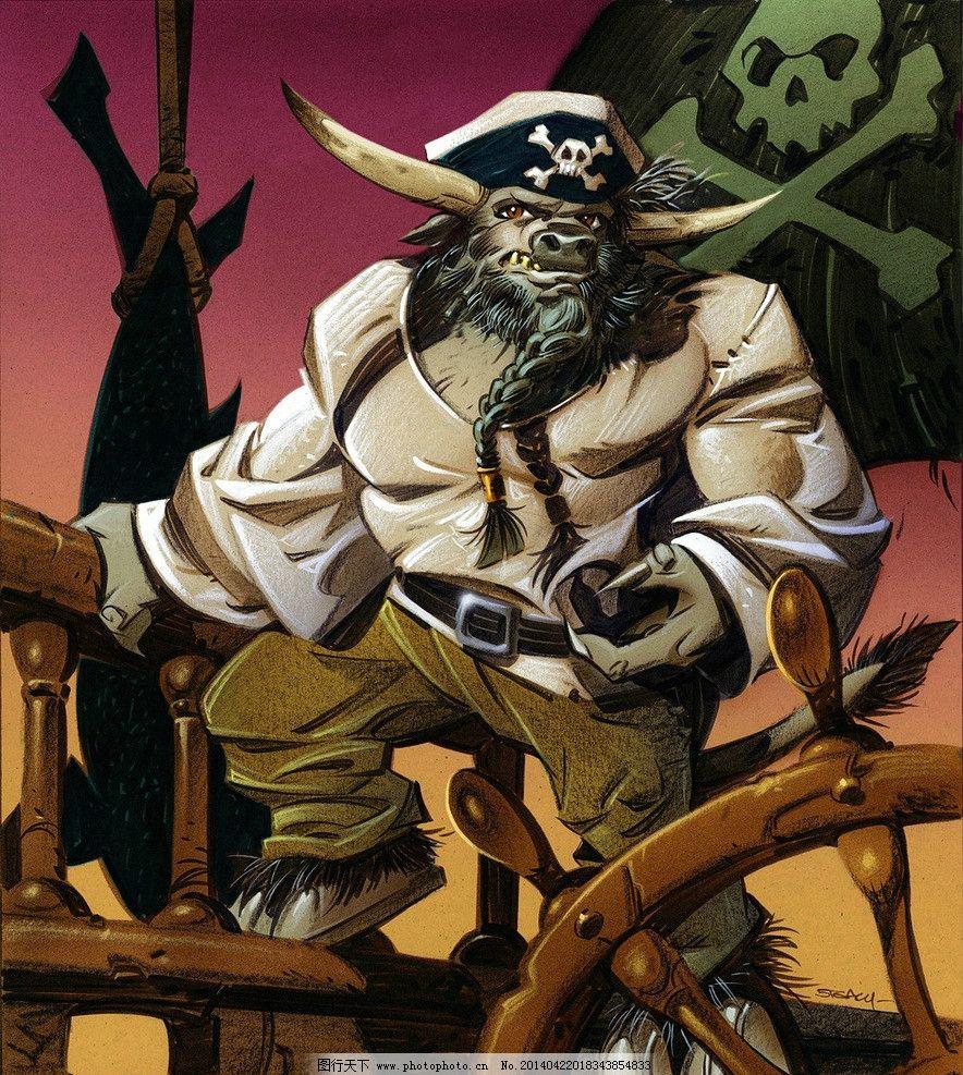 炉石传说 海盗 船长 卡牌