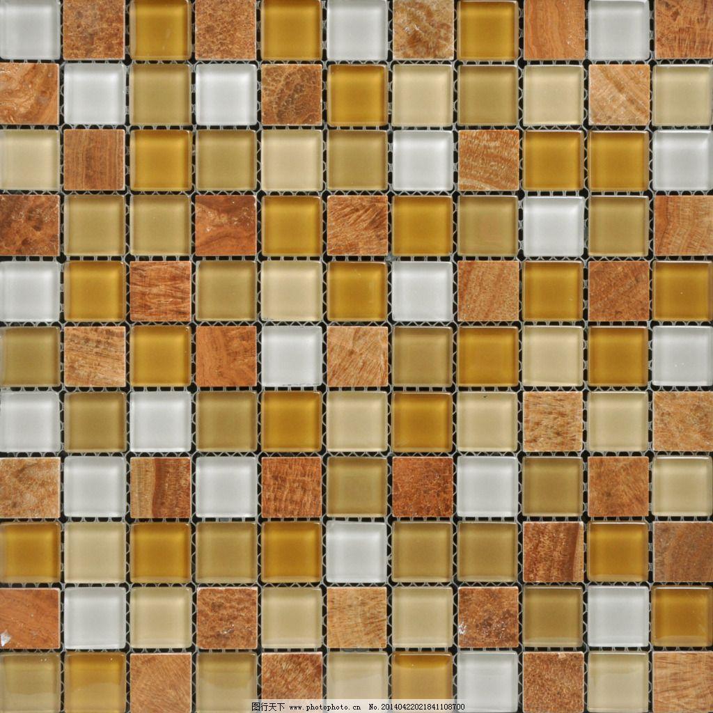 橙黄色水晶玻璃马赛克 3d材质