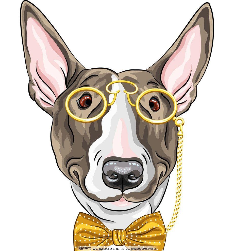 宠物狗 小狗 狗 卡通 宠物 犬类 手绘 家禽家畜 狗狗 哺乳动物 卡通