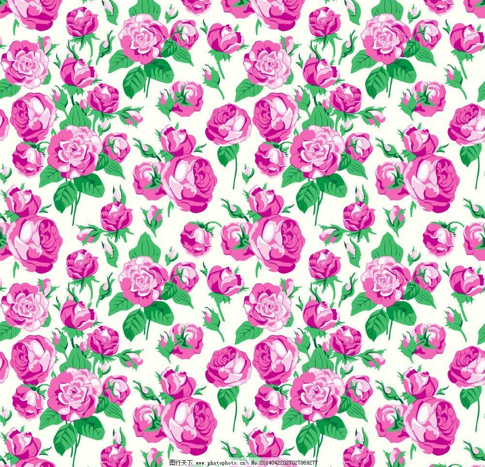 手绘玫瑰花图片