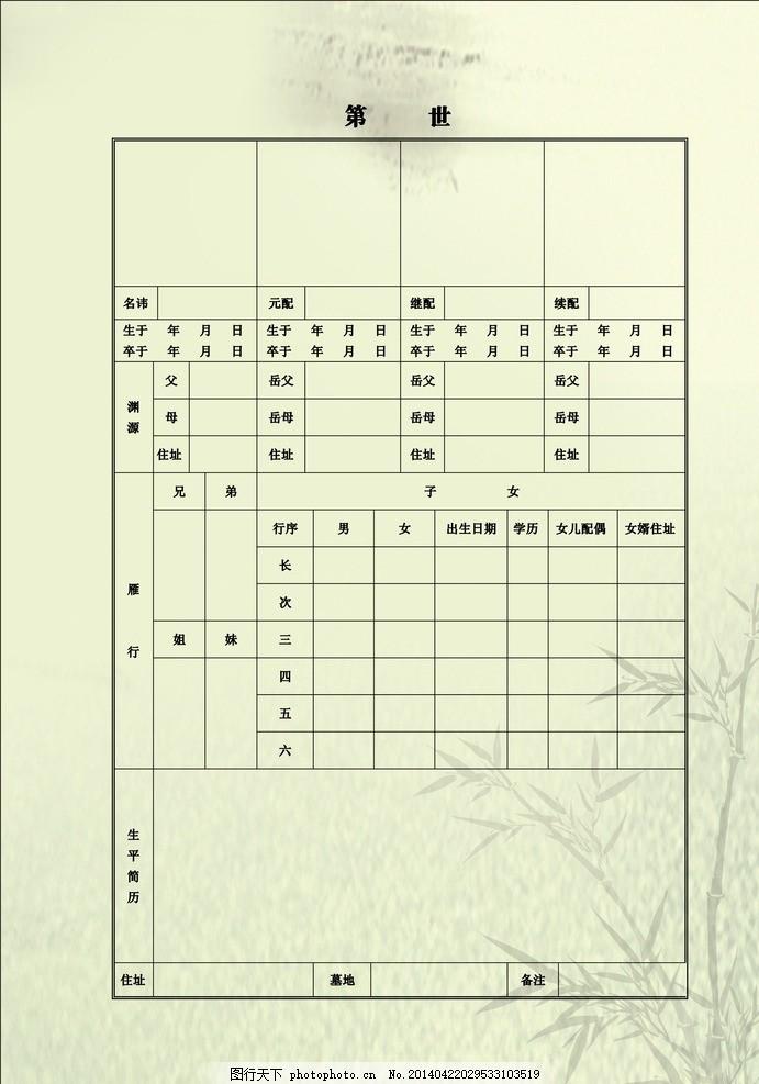 英语家谱树思维导图