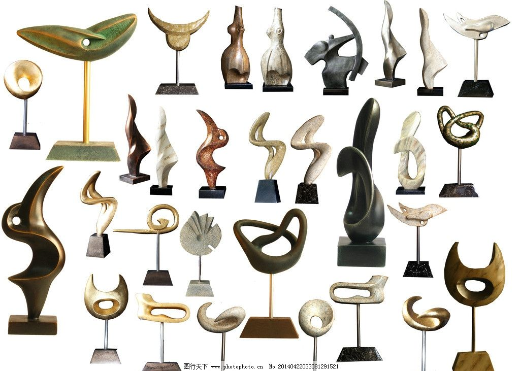 金属雕塑图片