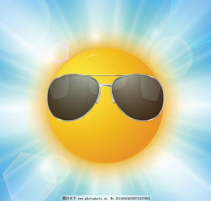 太阳阳光光线设计图片