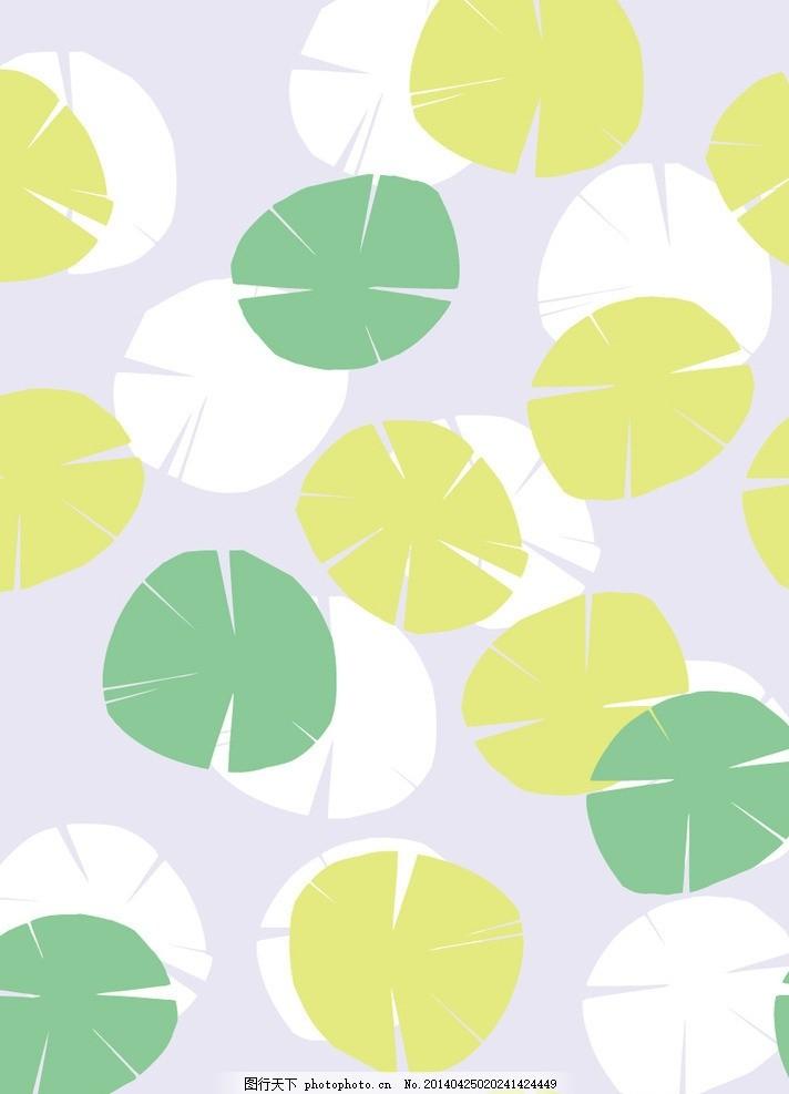 叶子图案 树叶 枝叶 花纹 布纹 印花 花布 艺术布 纹理 印染花纹