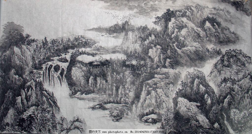 石头画法步骤图片风景
