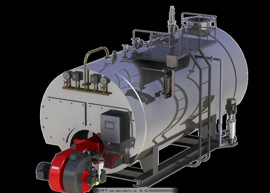 锅炉三维立体结构