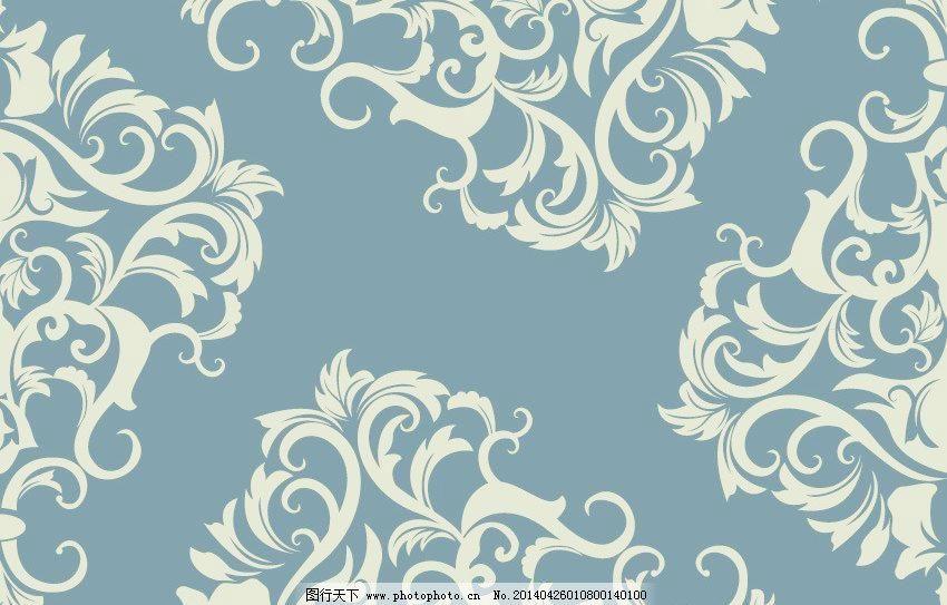 欧式古典花纹矢量素材