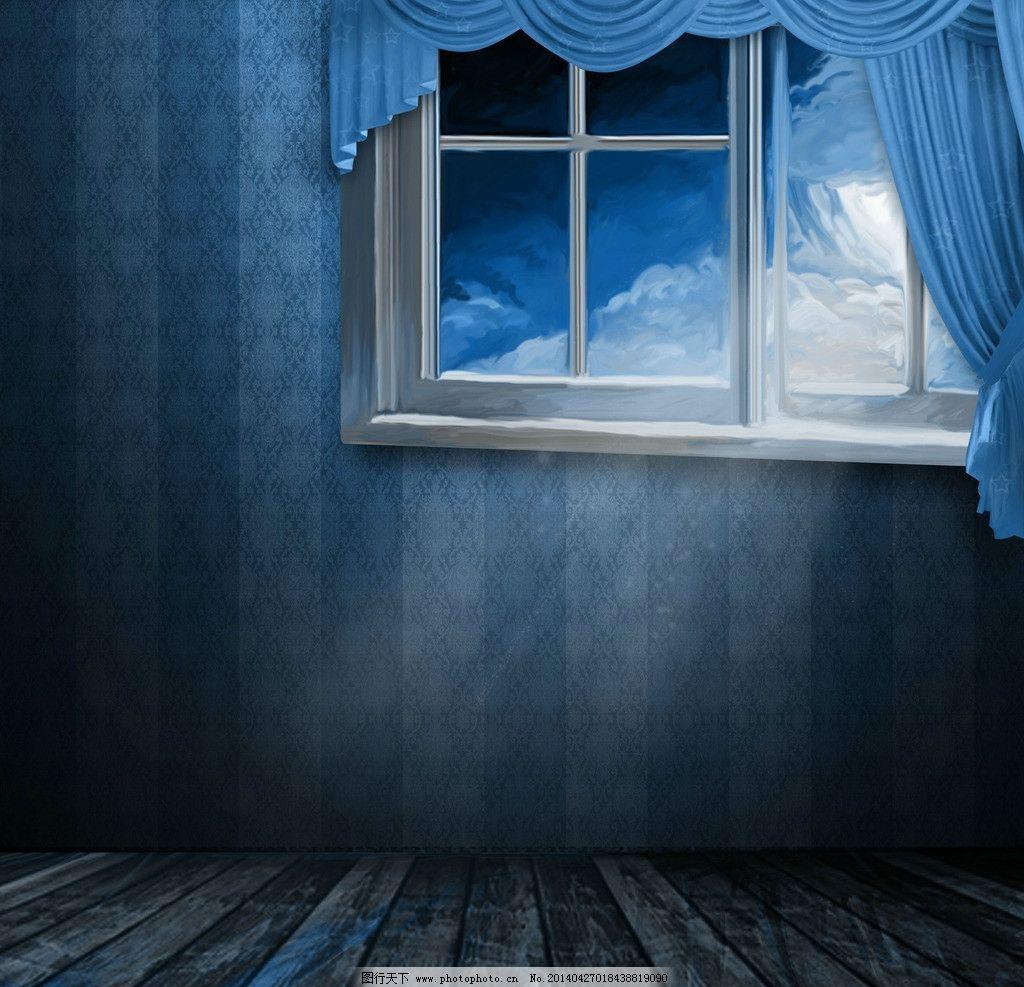 童话房屋 童话 卡通 漫画 手绘 背景 房屋 窗户 风景漫画 动漫动画