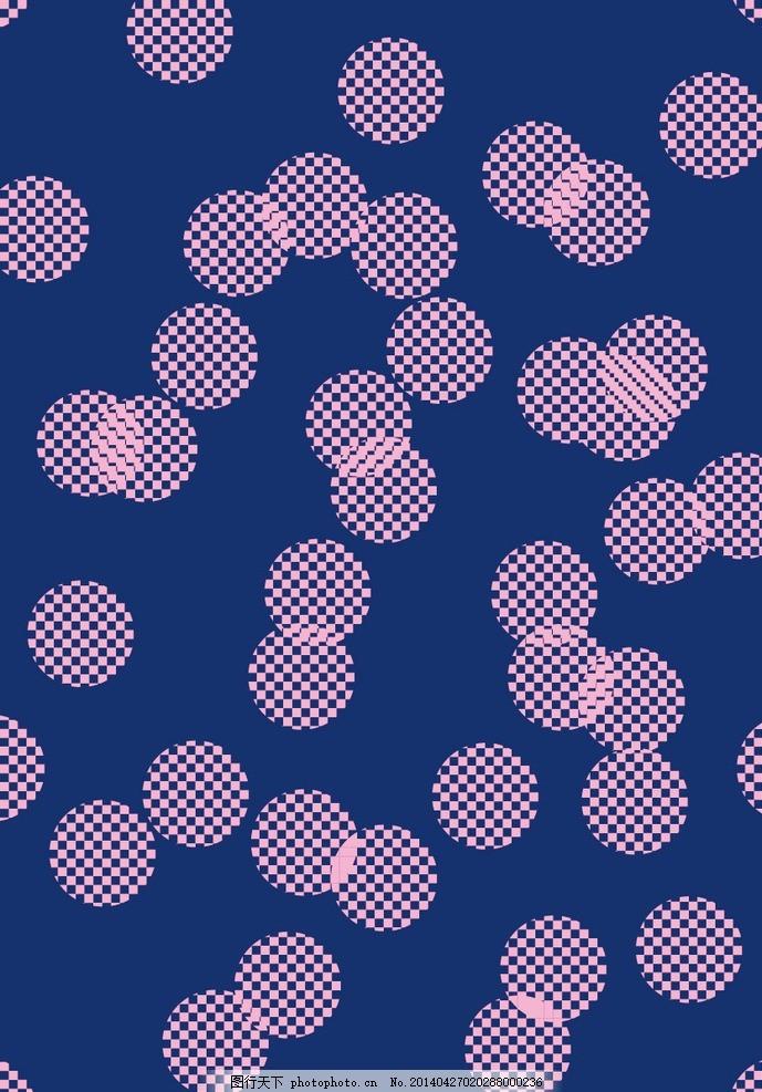 欧式灰蓝色布纹贴图