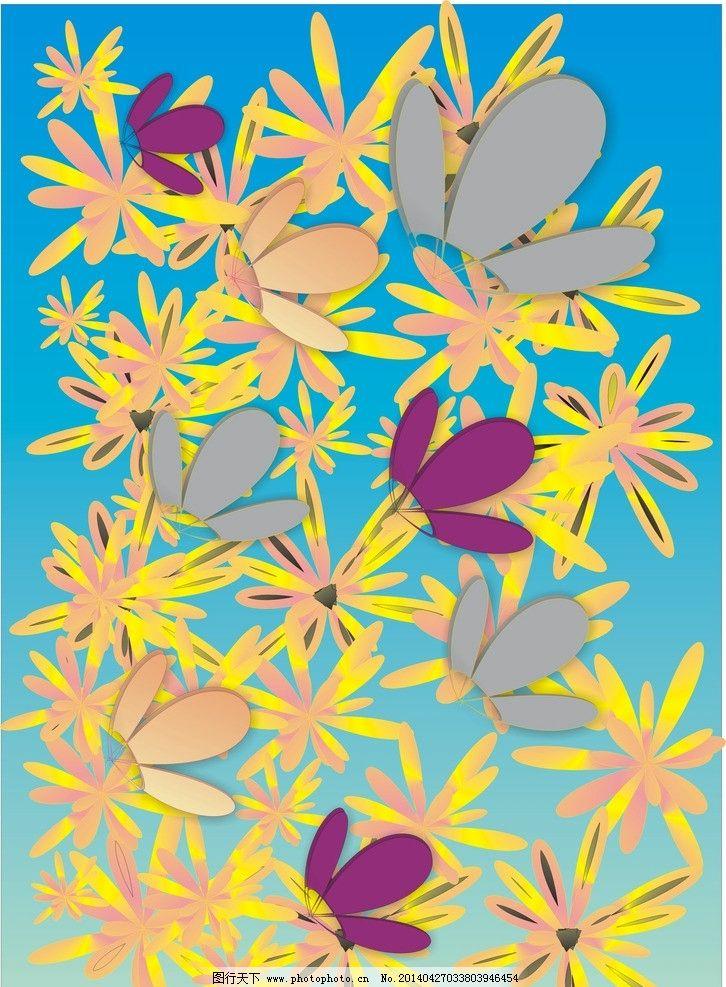 春天的花蝴蝶图片