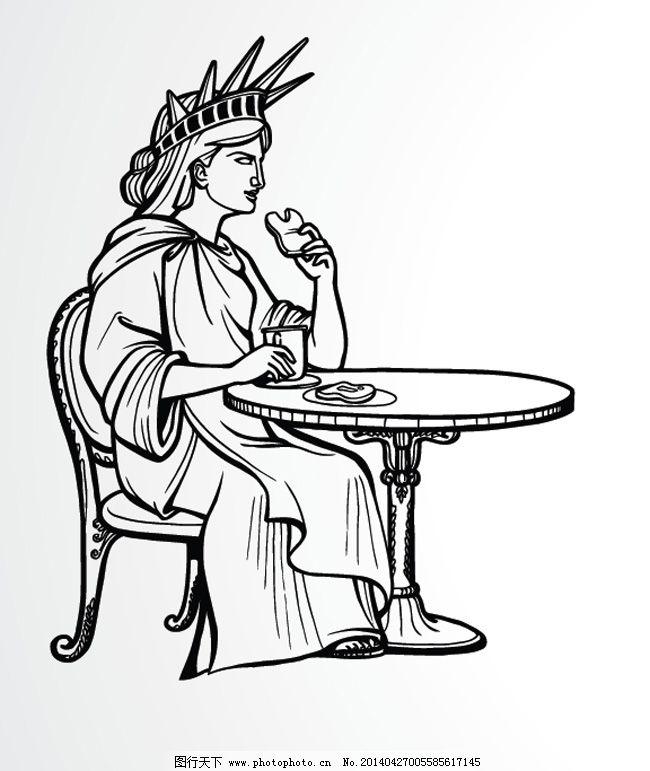 自由女神像创意再设计之三
