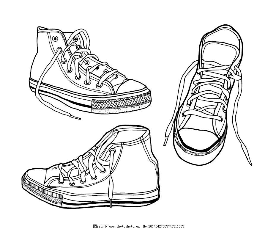 休闲帆布鞋手绘-可爱兔斯基 手绘帆布鞋