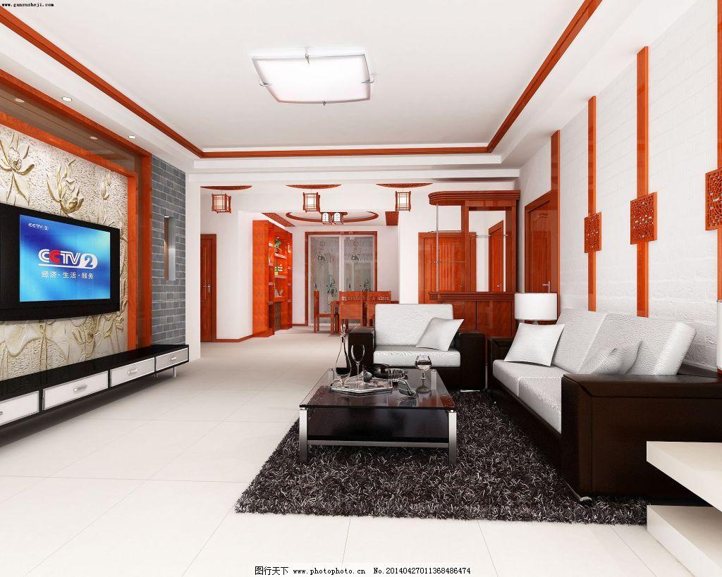 电视背景墙设计免费下载 背景墙 黑白 木头 室内 室内 背景墙 黑白