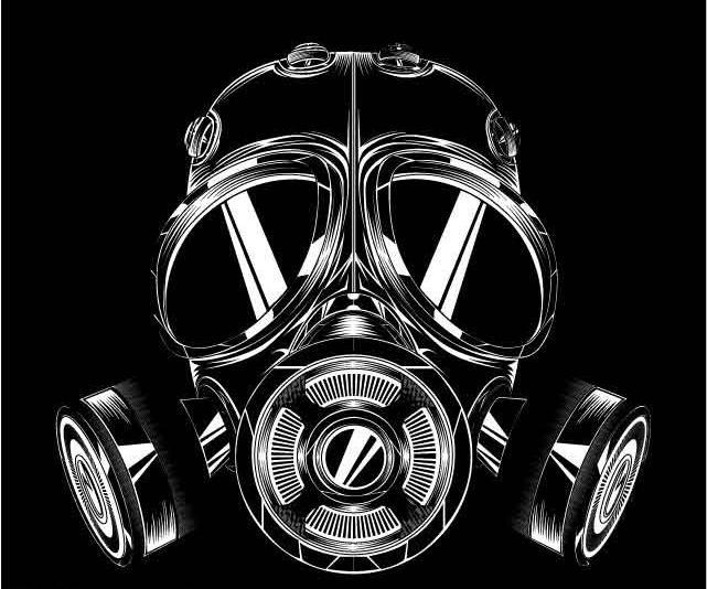 防毒面具图片