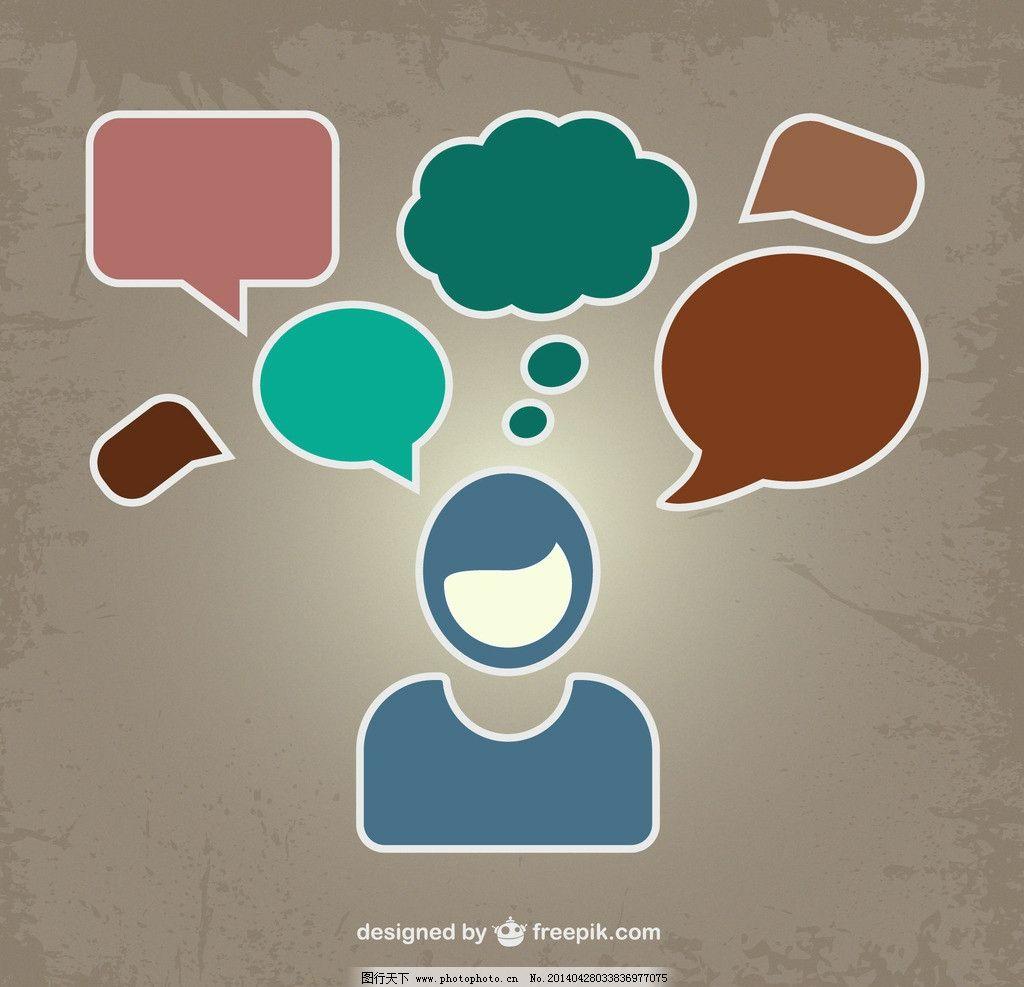 思考 思维 问题      对话框