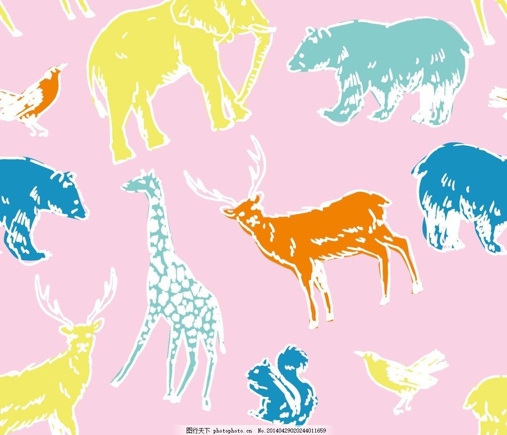 幼儿园主题墙边框动物