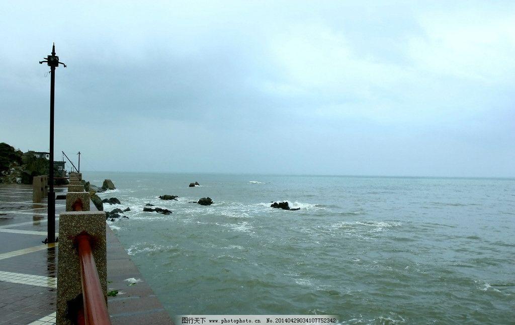 海边 阴天 大海 雨天 青岛 乌云 旅游摄影