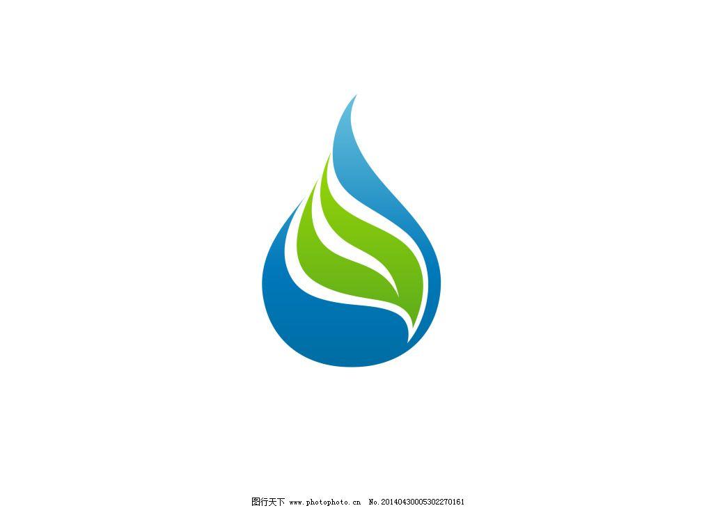 矢量logo 水滴logo 矢量logo 水滴logo 蓝绿色logo 矢量图 广告设计