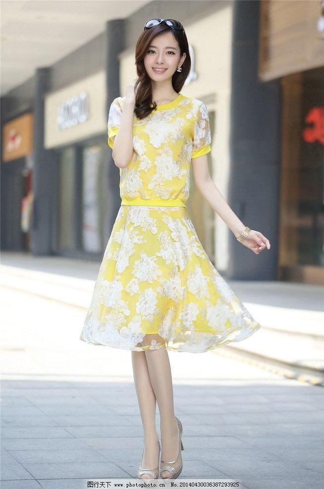 服装广告模特高清素材