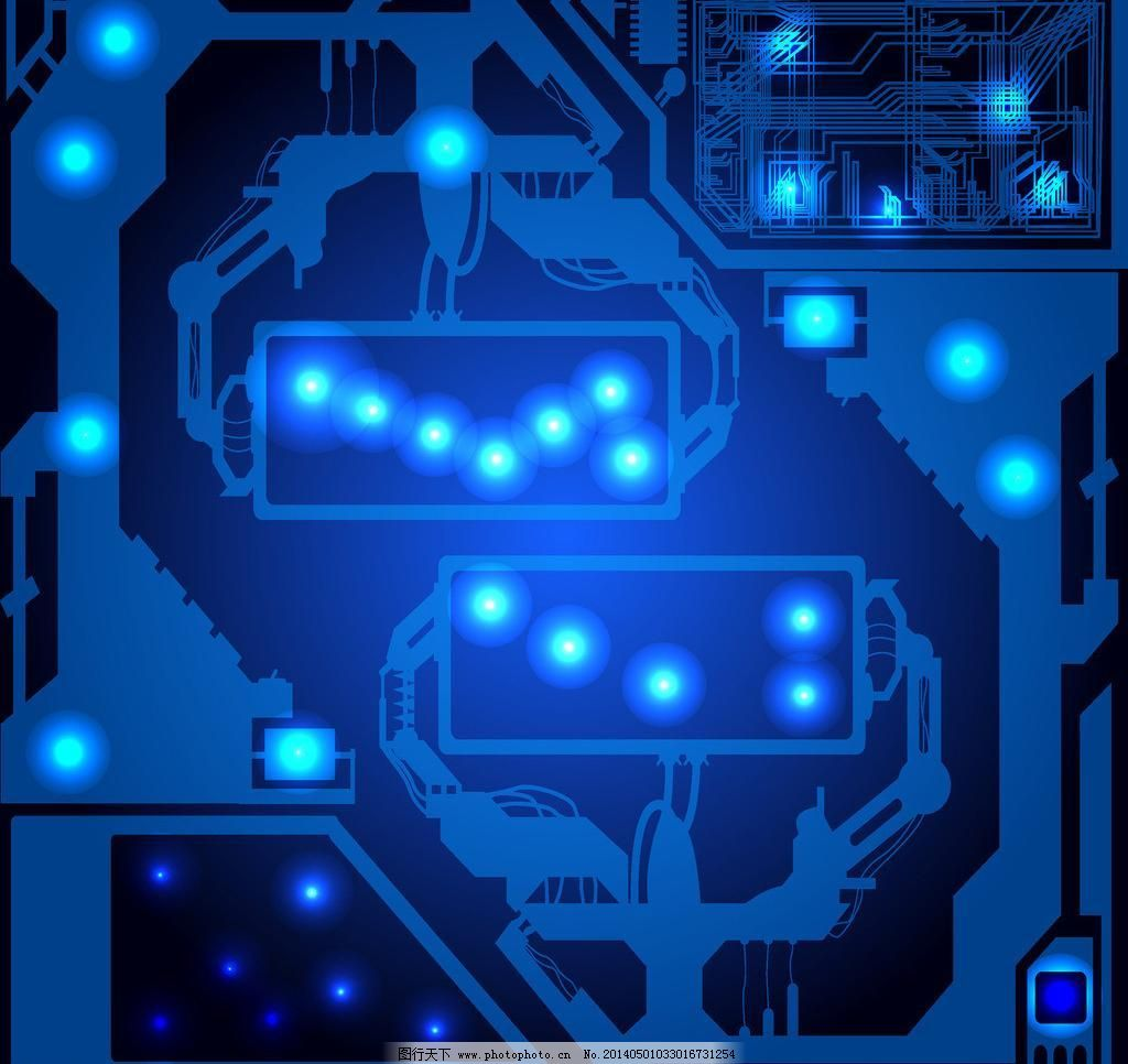 科技背景 背景底纹矢量素材 创意背景 底纹背景 底纹边框 电路板