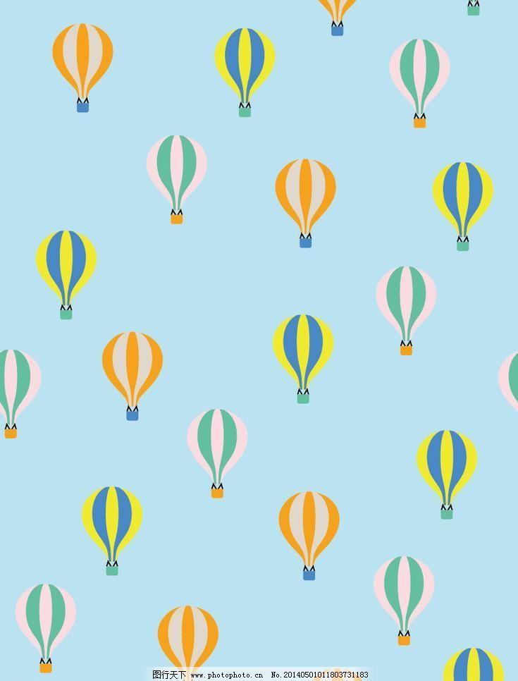 热气球图片_壁纸墙画_装饰素材_图行天下图库