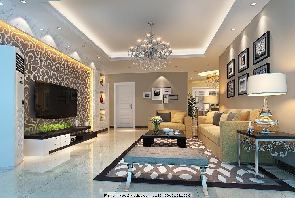 300dpi 3d设计 jpg 大理石背景墙 挂画 简约 墙纸 设计 许总客厅设计