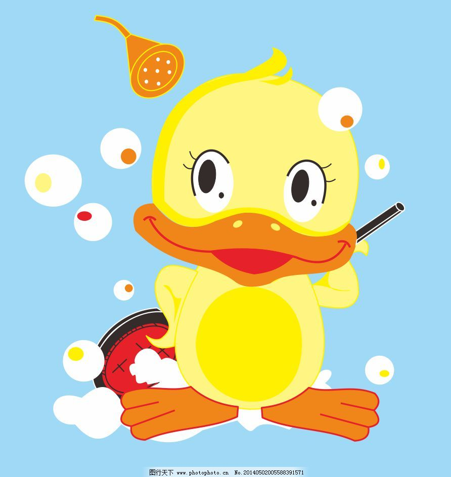 鸭子免费下载 卡通 可爱 水泡 洗浴 洗澡 小黄鸭 洗浴 水泡 洗澡 可图片