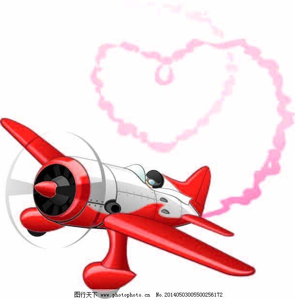 卡通飞机免费下载 飞机