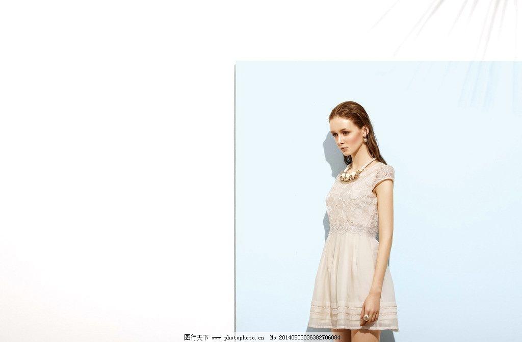 服装模特图片