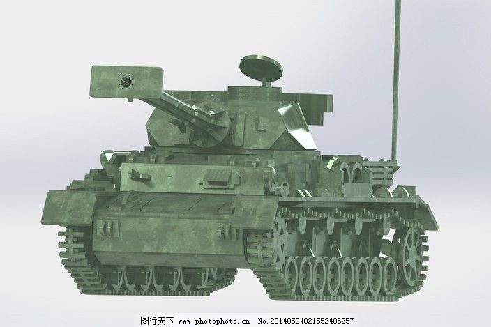 号坦克钢板拼图3d益智3d模型二战德军坦克metalcraftdesign