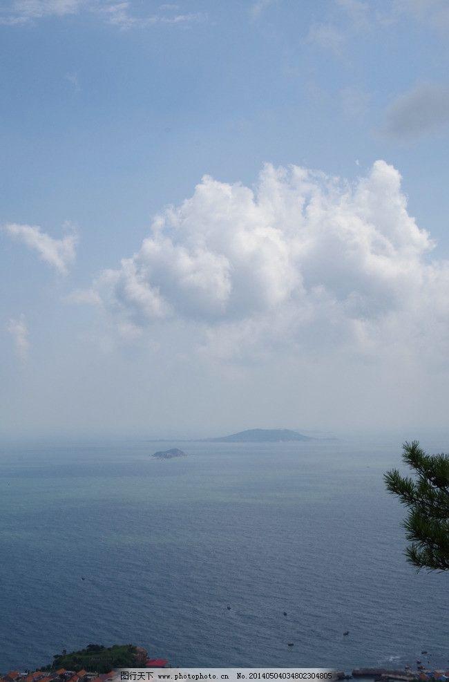 海边 海景 晨光 崂山 原创 有云 自然风景 自然景观 摄影 300dpi jpg