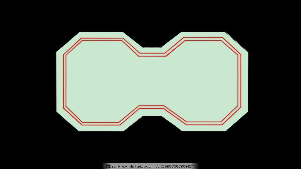 中式宫殿矢量图