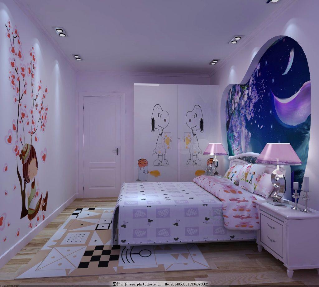 儿童房免费下载 儿童房设计 室内 装修 室内 装修 儿童房设计 家居