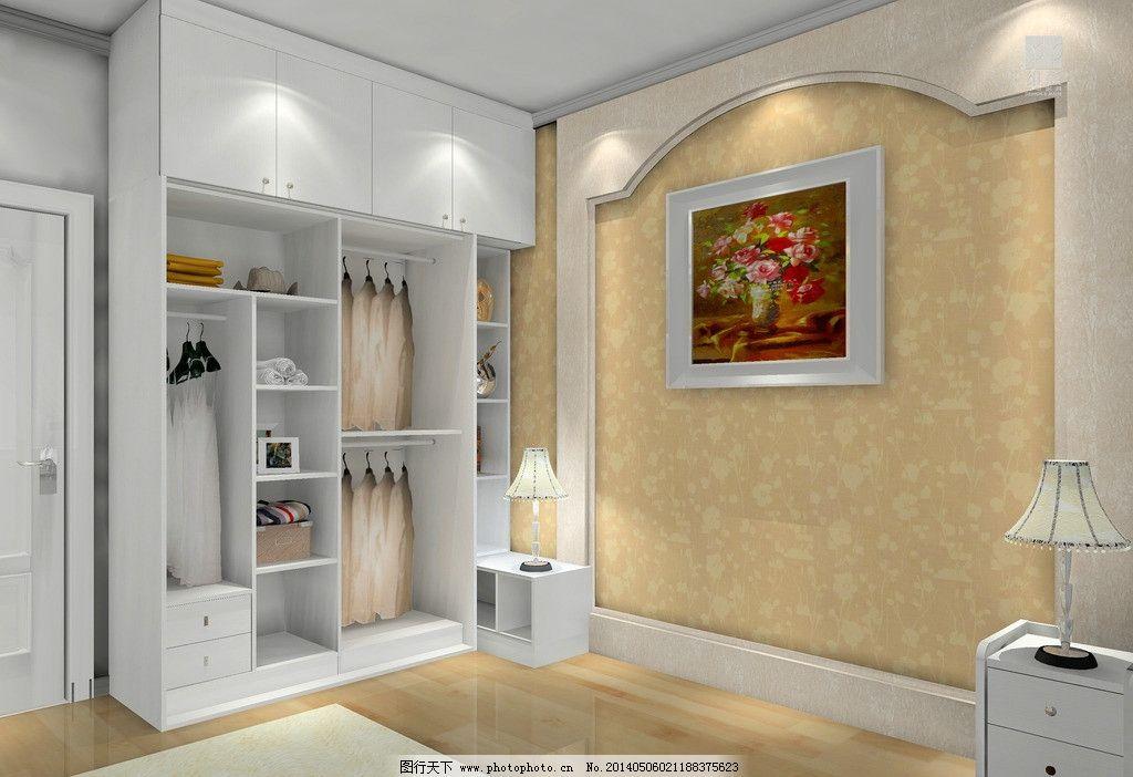 室内设计 主卧房 衣柜 衣柜内部结构 抽屉 床头背景 欧式背景