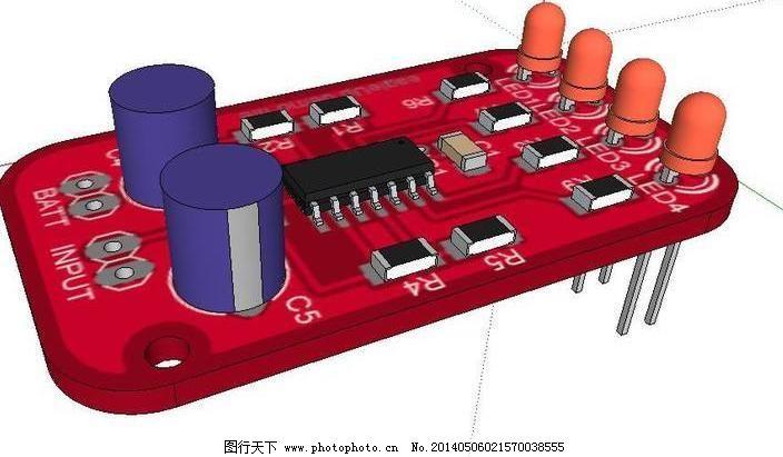 三维印刷电路板的设计_其他_3d设计_图行天下图库