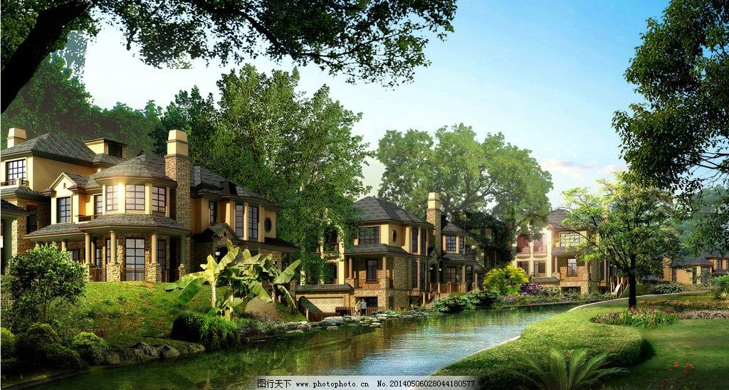 美式乡村风格别墅图片