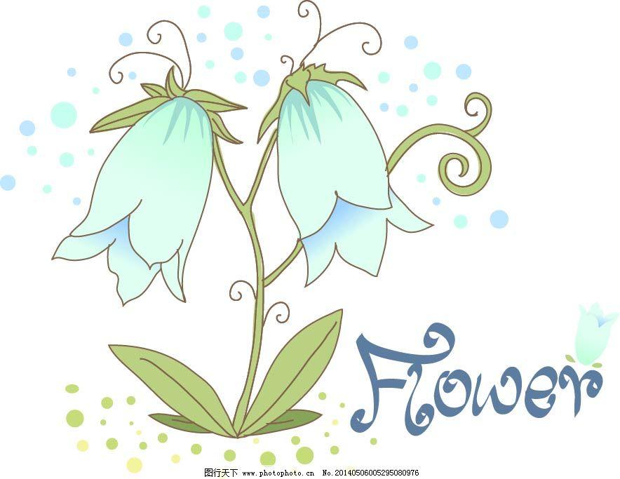 绿叶 手绘 素描 藤蔓 鲜花 植物 花朵 鲜花 花卉 植物 手绘 素描 藤蔓