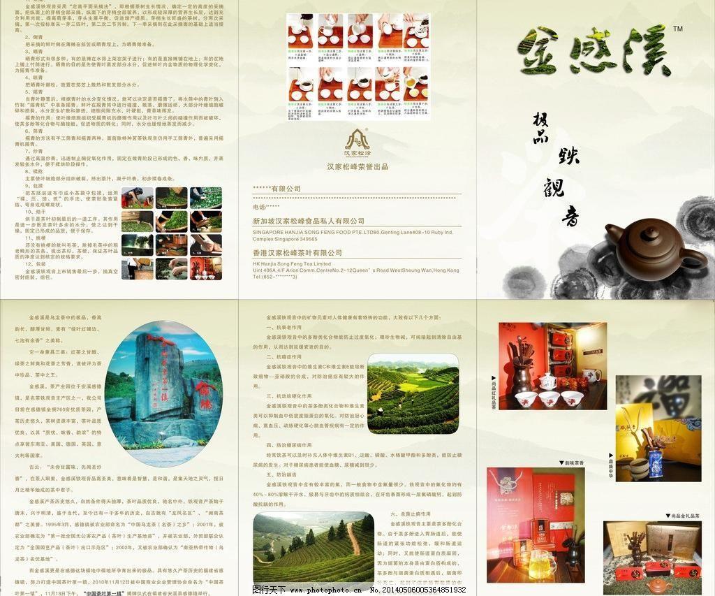 cdr dm宣传单 茶叶宣传册 茶叶宣传单 广告设计 宣传单 宣传单模板