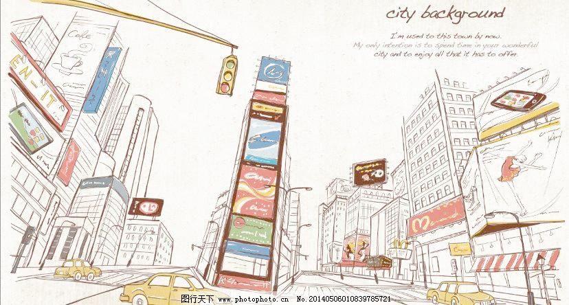 欧式街景手绘图片搜索
