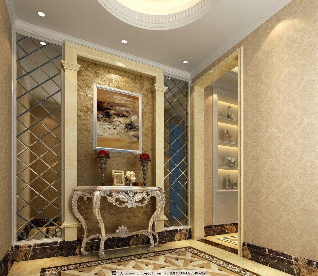 豪华欧式造型背景墙 室内摄影 建筑园林