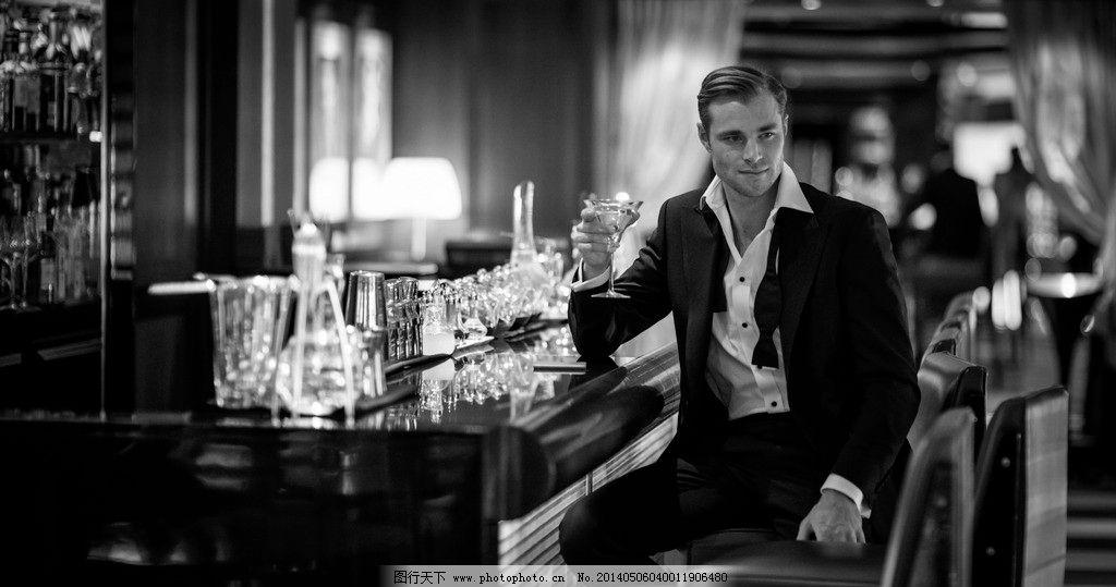 成功人士喝酒 喝酒 男人