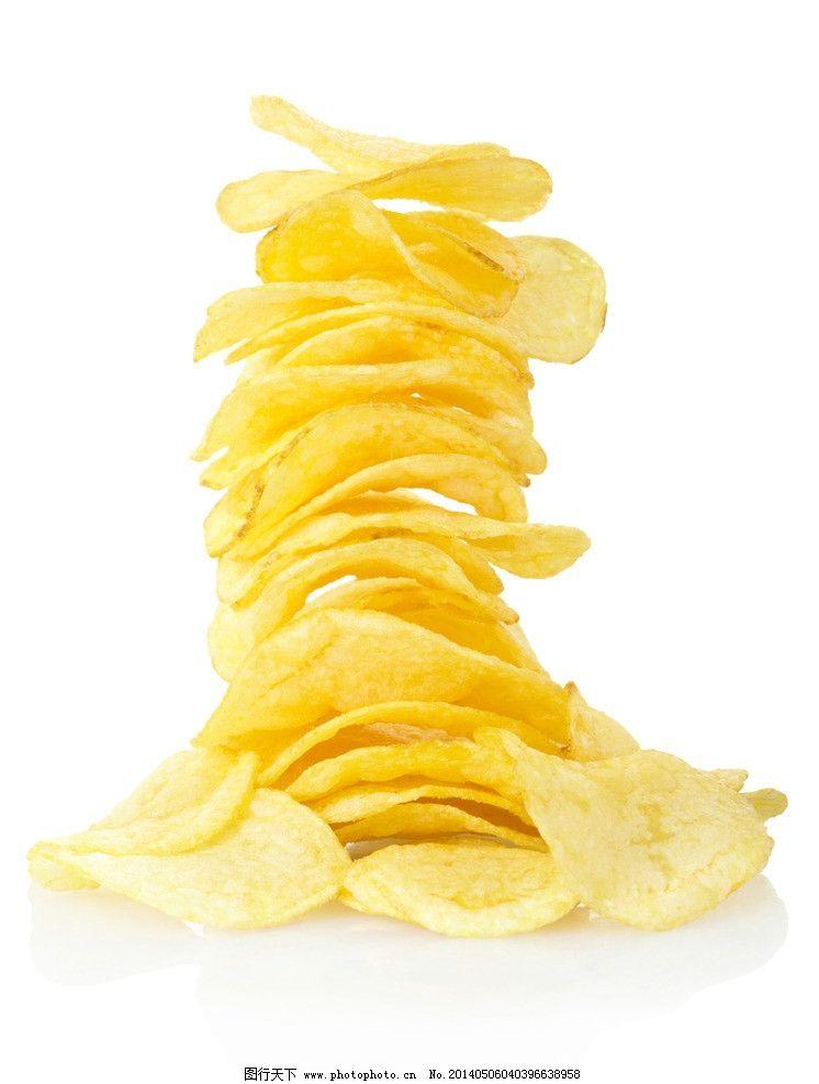 薯片简笔画 步骤