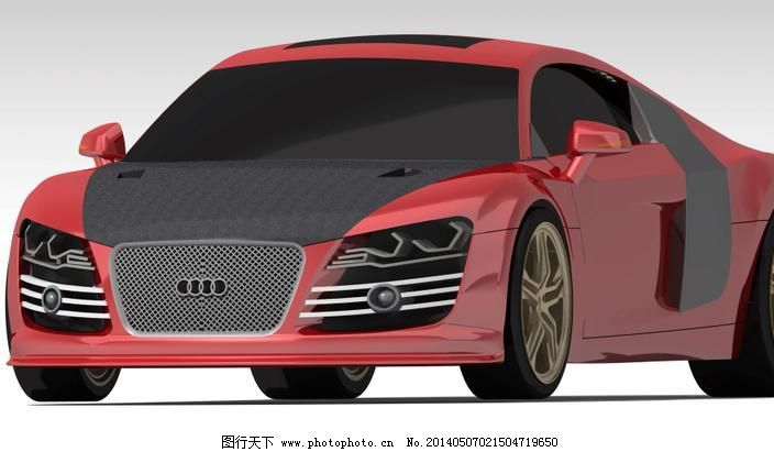 奥迪r8免费下载 奥迪r8 3d模型素材 其他3d模型