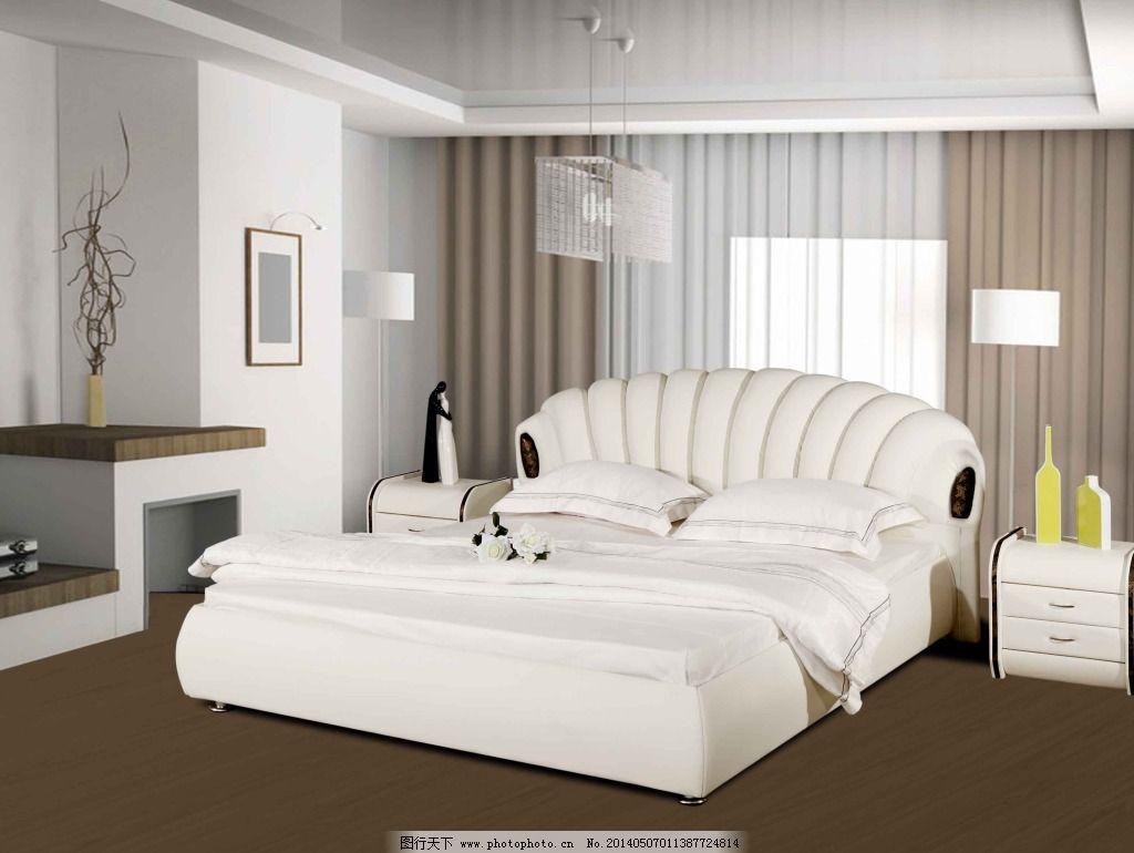 白色卧室家具图片大全