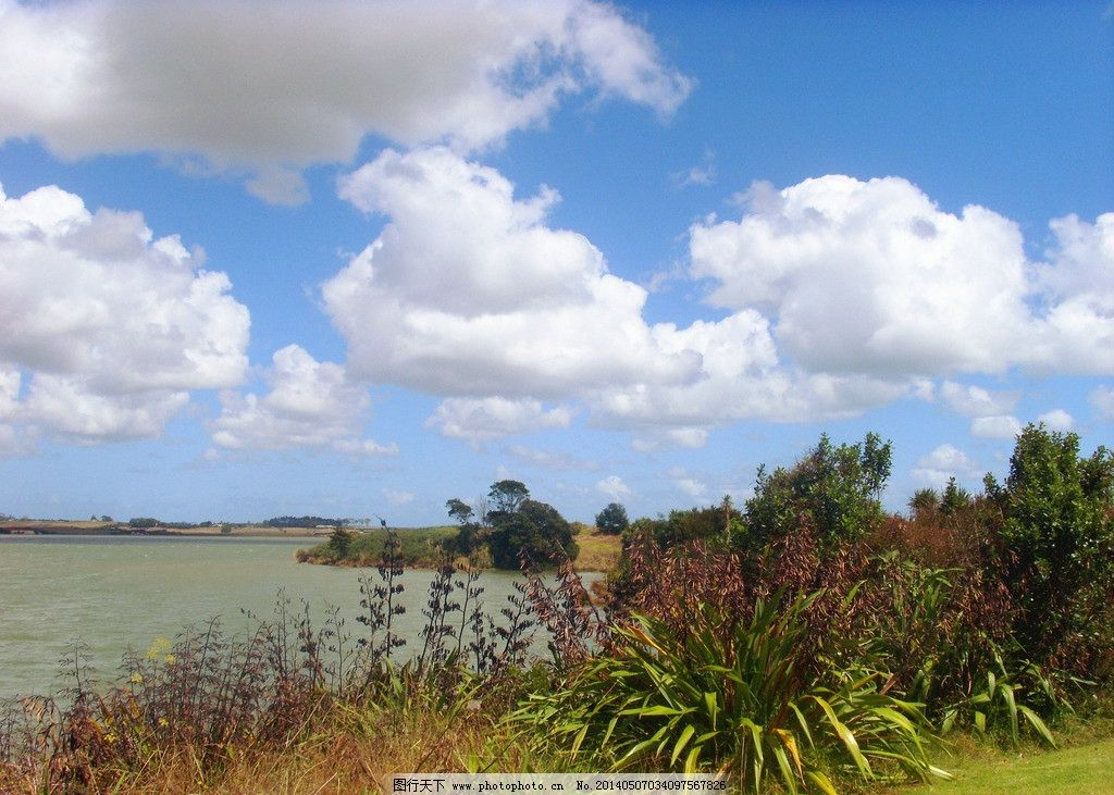新西兰海滨风景图片
